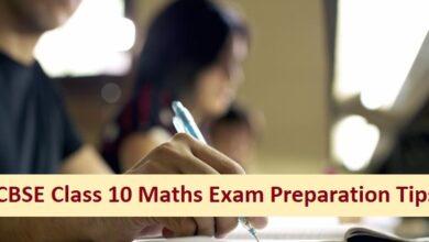 CBSE Class 10 Maths Exam: Tips to Score Good Marks
